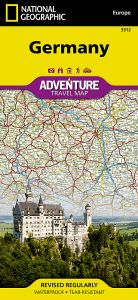 National Geographic - Adventure Map - Germany