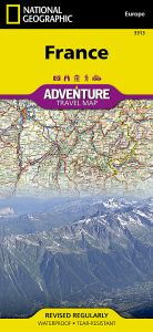 National Geographic - Adventure Map - France