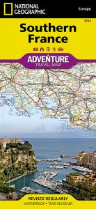 National Geographic - Adventure Map - France Southern