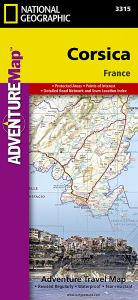 National Geographic - Adventure Map - Corsica