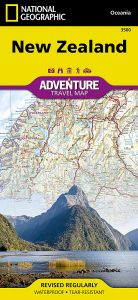 National Geographic - Adventure Map - New Zealand