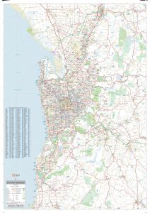 Adelaide Supermap Map