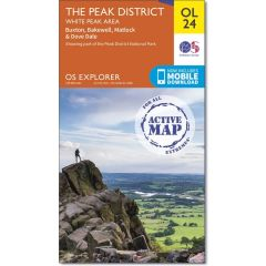 OS Explorer Active - 24 - The Peak District
