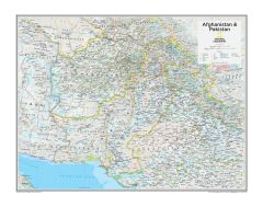 Afghanistan & Pakistan - Atlas of the World, 10th Edition Map