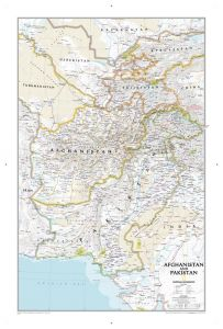 Afghanistan, Pakistan Map