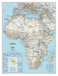 Africa Classic [Enlarged] Map