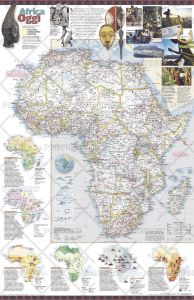 Africa Oggi  -  Published 2001 Map