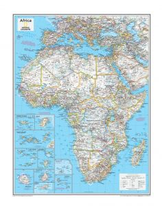 Africa Political - Atlas of the World, 10th Edition Map