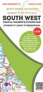 The Little Map Company - Route Finder - St Agnes To Porthcothan
