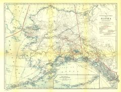 Alaska - Published 1914 Map