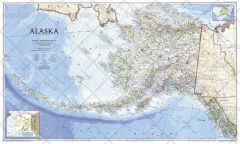 Alaska  -  Published 1994 Map
