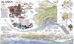 Alaska Theme - Published 1994 Map