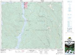 Alberni Inlet - 92 F/2 - British Columbia Map