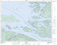 Alert Bay - 92 L/10 - British Columbia Map