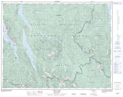 Alice Lake - 92 L/6 - British Columbia Map