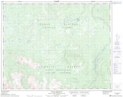 Anvil Mountain - 92 O/6 - British Columbia Map