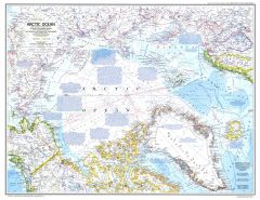 Arctic Ocean  -  Published 1983 Map