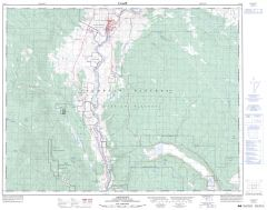 Ashcroft - 92 I/11 - British Columbia Map