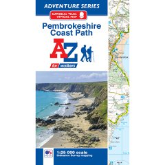 A-Z Adventure Atlas - Pembrokeshire Coast