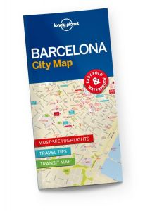 Lonely Planet - City Map - Barcelona