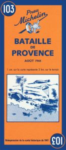 Michelin Historical Map - Battle of Provence (1944)