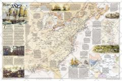 Battles of the Revolutionary War and War of 1812: Side 2 Map