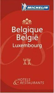 Michelin Red Guide - Belgique