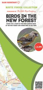 The Little Map Company - Route Finder - Birds In The New Forest