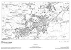Blackburn 1844-1849 Map