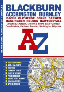 A-Z Street Atlas - Blackburn & Burnley