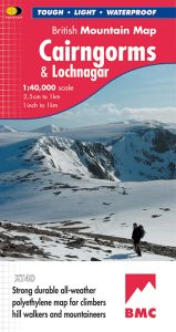 Harvey British Mountain Map - BMC - Cairngorms & Lochnagar