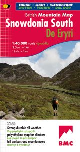Harvey British Mountain Map - BMC - Snowdonia South