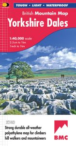Harvey British Mountain Map - BMC - Yorkshire Dales