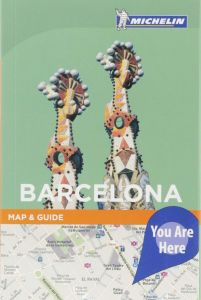 Michelin City Map And Guide - Barcelona