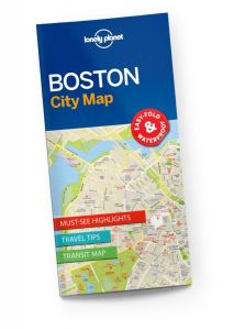 Lonely Planet - City Map - Boston