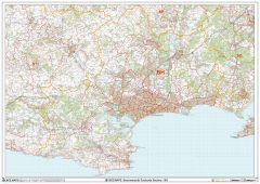 Bournemouth - BH - Postcode Wall Map