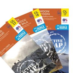 OS Explorer Active Map Set - Snowdonia