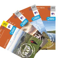 OS Explorer Active Map Set - Hadrian's Wall Path