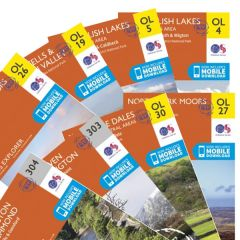 OS Explorer Active Map Set - Coast To Coast