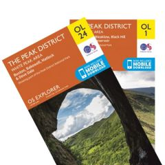 OS Explorer Map Set - Peak District