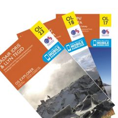 OS Explorer Map Set - Snowdonia