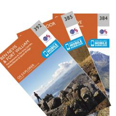 OS Explorer Map Set - Ben Nevis