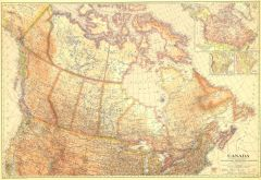 Canada - Published 1936 Map