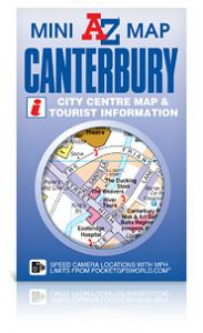 A-Z Mini Map - Canterbury