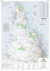 Cape York Supermap Map