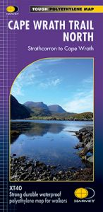 Harvey National Trail Map - Cape Wrath Trail North