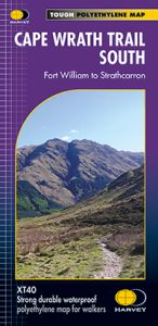 Harvey National Trail Map - Cape Wrath Trail South