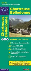 IGN Top 75 - Chartreuse Belledonne