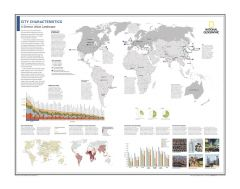 City Characteristics: A Diverse Urban Landscape - Atlas of the World, 10th Edition Map