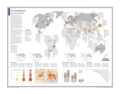 City Dominance: Cities Rule the World - Atlas of the World, 10th Edition Map